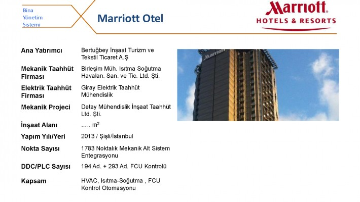 Marriot Otel