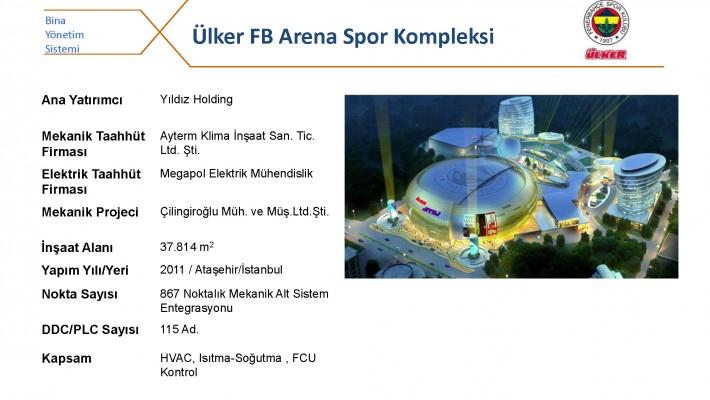 Ülker FB Arena Spor Kompleksi